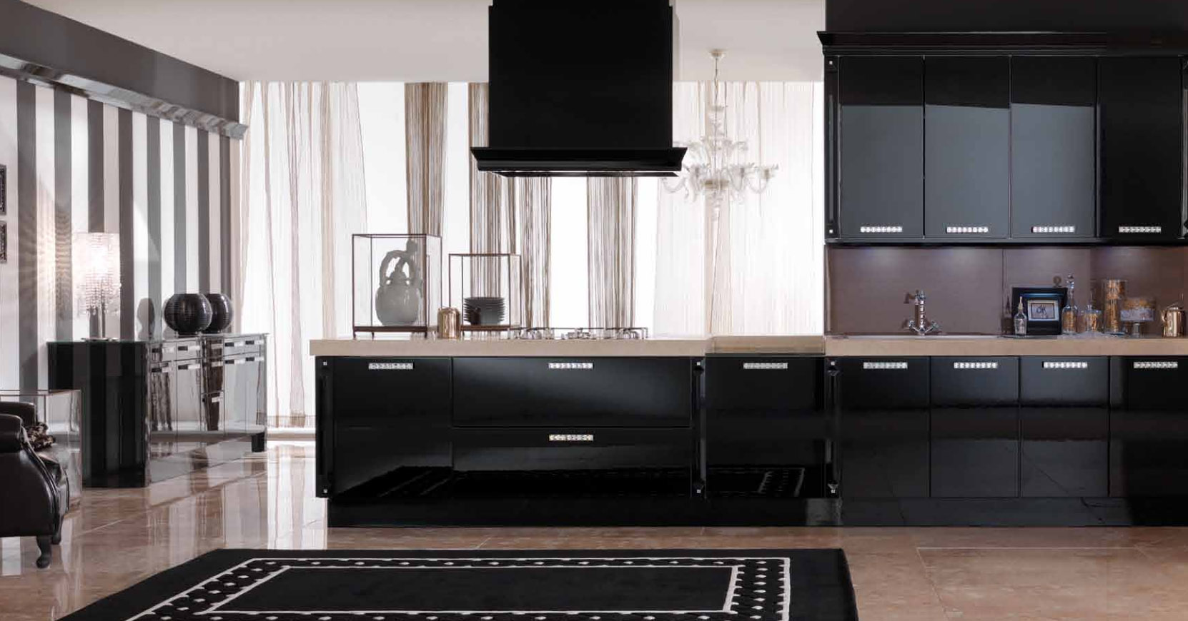 cuisines luxe alessi cerame. Black Bedroom Furniture Sets. Home Design Ideas
