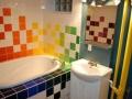 carrelage-salle-de-bain-multicolore