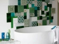 mosaique-vert-interessante-bains